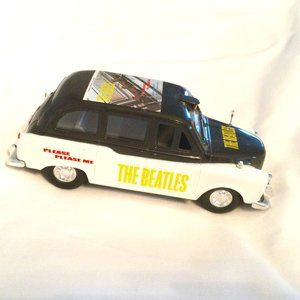 The Beatles Album Cover Car Taxi 1:24 2012 Loose